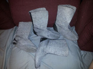 2 sets of Winter boot liners