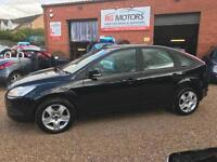 2010(60) Ford Focus 1.6 TDCi Style ( 90ps ) DPF Black 5dr **ANY PX WELCOME**