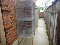 Double Stacked(Breeding) Cage for Pets/Bird