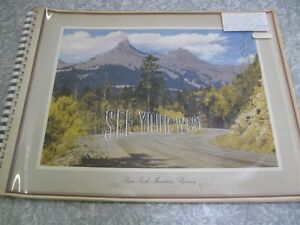 STAND OIL CO (CHEVRON) SCENIC VIEWS LATE 40'S/EARLY 50'S