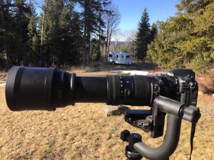 SUPER TELEPHOTO Lens for Nikon Mount