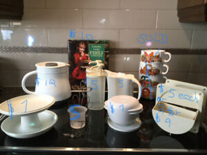 Brand New & Gently Used Tupperware & Kitchen Wares
