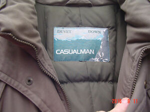 Manteau en duvet XL