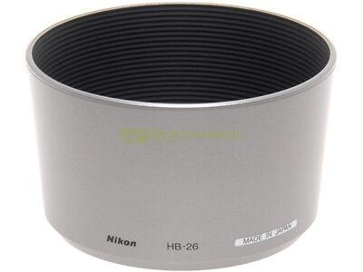 Nikon paraluce HB-26 x Nikkor AF zoom 70/300mm. f4-5,6 G Silver. Originale.