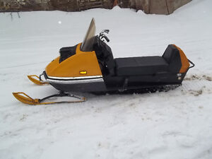 Vintage 1972 Ski Doo Olympique ( Olympic ) snowmobile