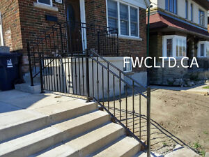 Wrought Iron Metal Solid Fence Panels, Railings, Gates London Ontario image 11