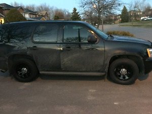Chevy Tahoe Police edition