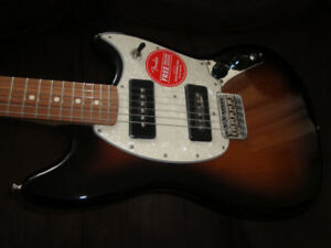 MADE IN MEXICO FENDER MUSTANG 90 SHORT SCALE BRAND NEW $525