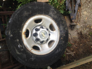 Chevy rims and tires