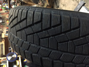 Continental Extreme Contact Snow Tires (set of 4) 185/55 R15 West Island Greater Montréal image 1