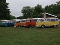Wanted for purchase 1978-1979 VW camper van