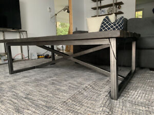 Elte Barn Wood Coffee Table - For Sale