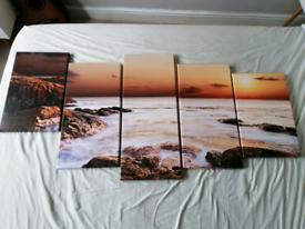 Beautiful ocean canvas