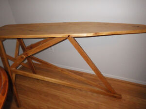 Ironing Board Accent Table