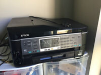 epson workforce 545 all-in-one printer (for pick up only)