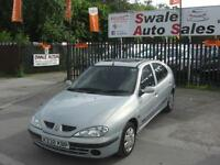 2001 RENAULT MEGANE EXPRESSION 1.4L IDEAL CHEAP RUN ABOUT WITH LONG MOT