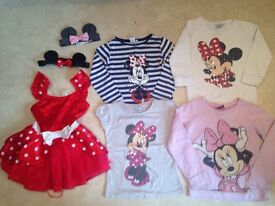Girls Minnie Mouse Clothes Bundle *5-7 years*