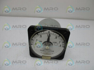 General Electric 50-112402fcad1 Power Factor Meter New No Box