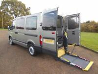 2010 60 RENAULT MASTER 2.5DCI SWB WHEELCHAIR ACCESSIBLE 41000 MILE NO VAT AIRCON