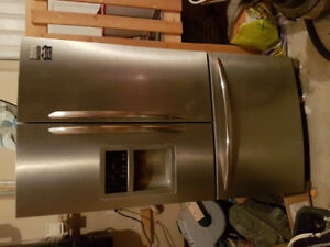 Fridgidaire Gallery Stainless Steel Fridge for sale
