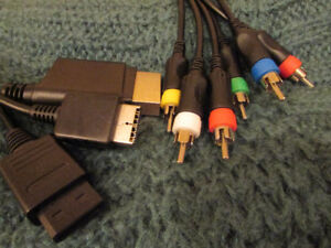 AV HDTV cable compatible with Wii / PS2 / Xbox 360