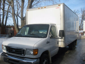 2007 Ford E 450  CUBE 18 PIED