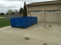 WASTE CONTAINER BIN / DUMPSTER RENTAL $299 no dump fee's