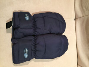 mitaines d`hiver marines Hot paws