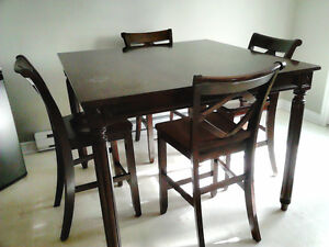 pub style dining set --counter height