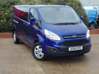 2016 Ford Transit Custom 2.2 TDCi 155ps Low Roof DCab Limited Van 4 door Pane...
