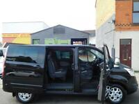 The Mighty 2014 Ford Transit Custom Limited 155bhp 6 seat factory fitted crew double cab (50)