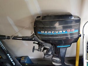 9.8 Mercury Outboard Engine