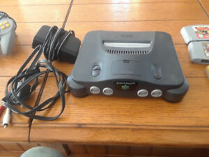 N64 with 2 controllers