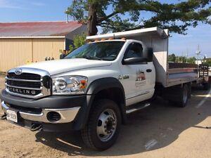 2007 Sterling 5500 dump truck