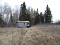 Hunting Land with Cabin.