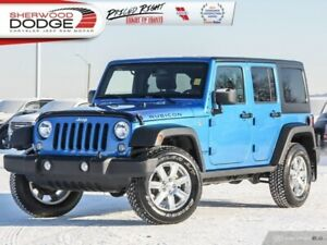2016 Jeep Wrangler Unlimited Rubicon  | GOLDPLAN WARRANTY INCLD