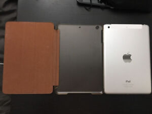 Well kept White iPad mini2 with cellular