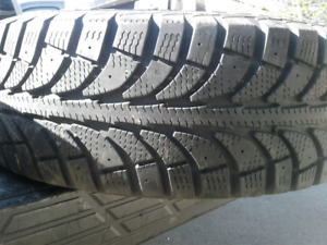 One Winter tire