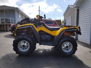2011 outlander 650 with plow for sale or trade