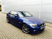 2011 11 Reg BMW 320d M Sport Plus + LEATHER + LCI + METTALIC BLUE