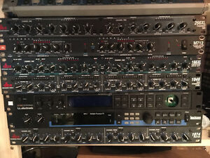 VARIOUS rack gear - comps / limiters / effects / cables