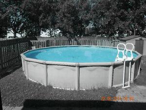 24ft Round Above Ground Pool