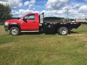 2007 Dodge Dsl 4x4 Dually Deck Truck Strathcona County Edmonton Area image 7