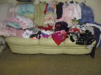 Large bundle/job lot girls clothes age 8 - 12. 2x bin bags worth.
