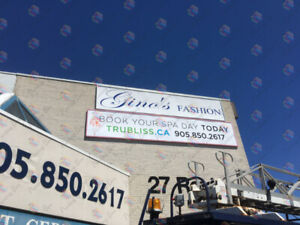 STORE FRONT SIGNS✫✫CHANNEL LETTER✫✫PUSH THROUGH✫✫ BOX SIGNS