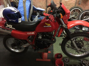 1984 HONDA XL350r in incredible shape with extras