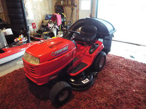 "TROY-BILT 42"" LAWNMOWER WITH BAGGER"