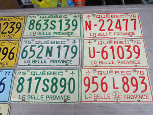 COOL OLD LICENSE PLATE FOR SHOP, MAN CAVE OR SIGN DECOR Only $10 Kitchener / Waterloo Kitchener Area image 4