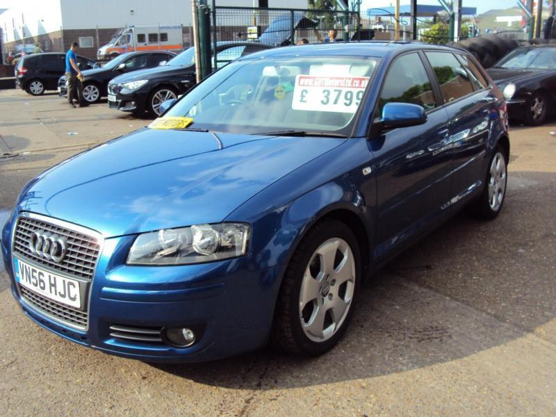 "Audi A3 SPORT/SPORTBACK 5 DOOR – 2006 Year ""56"" Plate- £3,799"