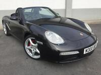 2005 05 Porsche Boxster 2.7s FINISHED IN METALLIC BLACK IN SHOOW ROOM CONDITION